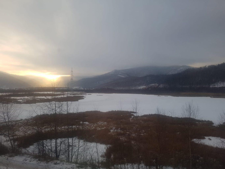 Fahrt mit der Transsib nach Sljudjanka