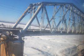 Brücke Aussicht Transsib