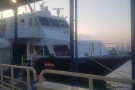Schiff nach Hakata