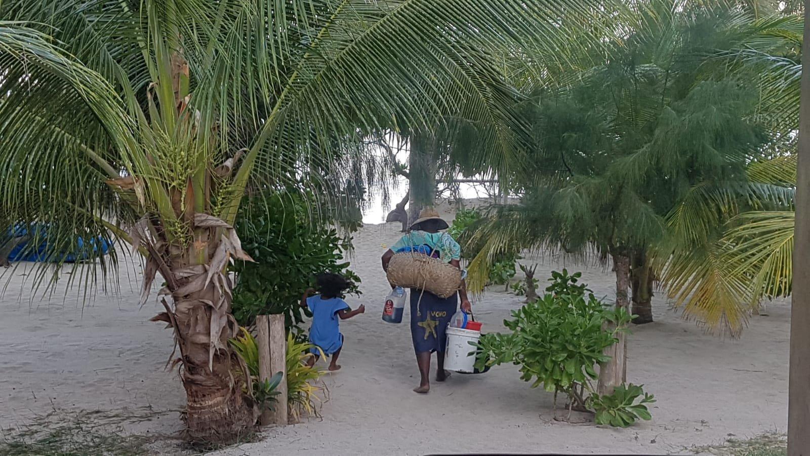 Menschen auf Fidschi