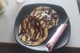 Roti Canai mit Schokolade