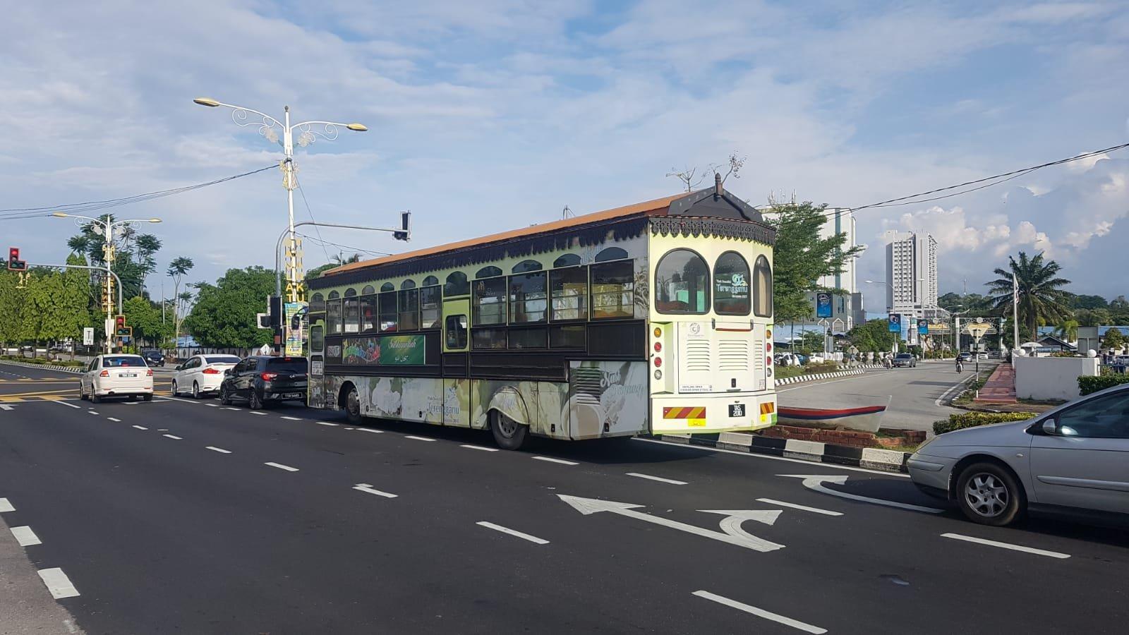 Bus in Kuala Terengganu