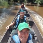 Longboat im Taman Negara