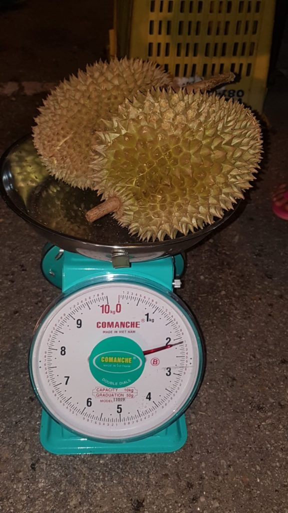 Durian in Ipoh